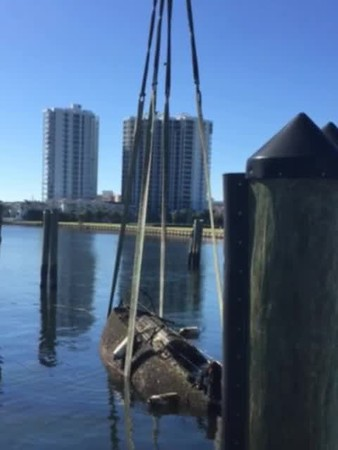 Hurricane Irma Dock Damage