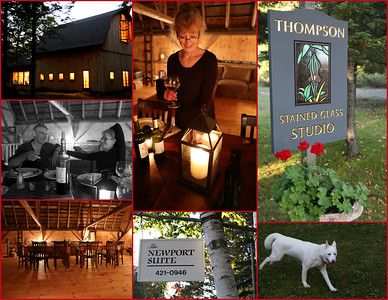 An Evening @ Thompson Stained Glass Studio & Newport Suites