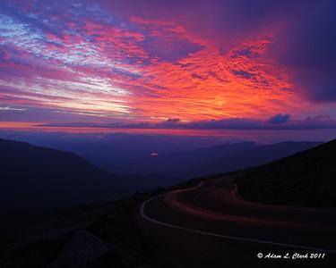 Mt. Washington - Sunrise Drive & Hiking 7-24-11