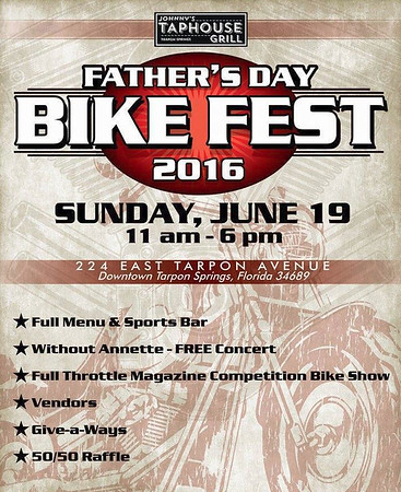 2016-06-19.......Father's Day Bikefest...Johnny's Taphouse,Tarpon Springs,Fl.....PARTIAL