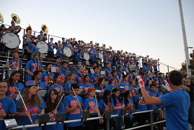2016-09-16 First Football Game Pep Band