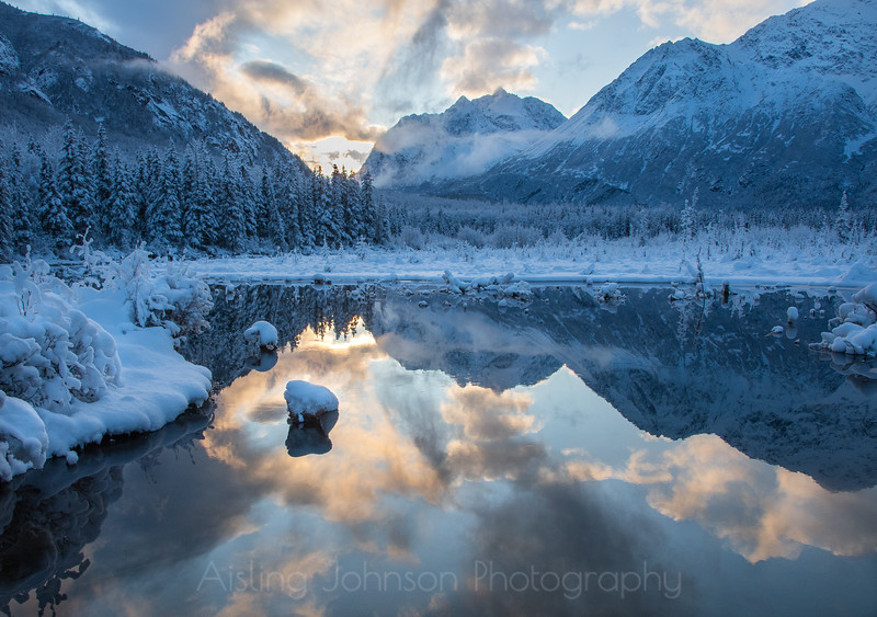 Winter in the Eagle River Valley