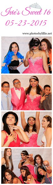 Ivelisse's Sweet 16 Photo Booth