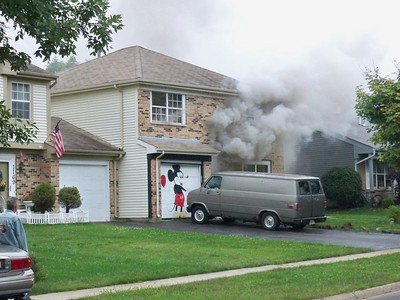 Carol stream general alarm for the house fire