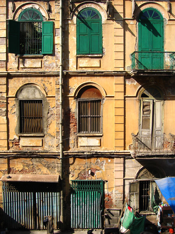 cool dilapidated building