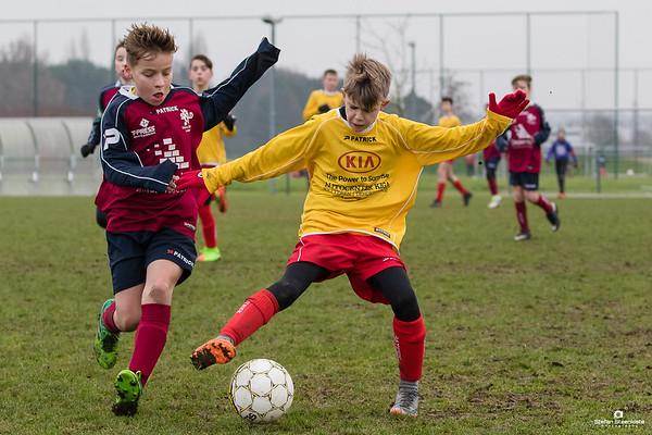 13/01/2018: U12P KVV Laarne-Kalken A - SK Lokeren Doorslaar A