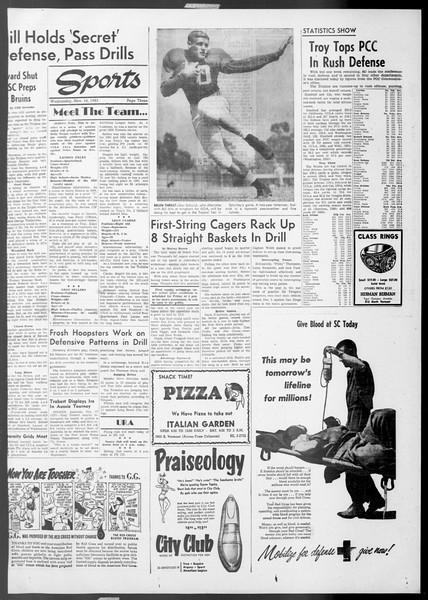 Daily Trojan, Vol. 45, No. 42, November 18, 1953