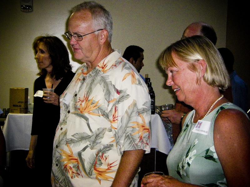 Sheila Burke, Bob Mills, Pam Mohler