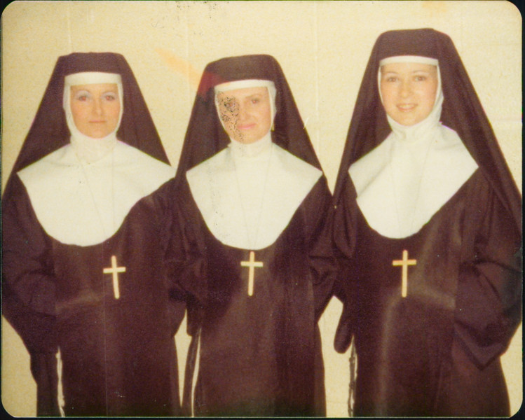 The 3 Mormon nuns: Jeanette, Ruth Plothow, Suzanne Hovermale
