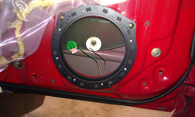 2001 Honda S2000 Front Door Speaker Installation