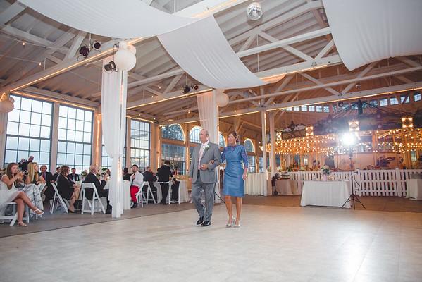 5. Entrances, First dance, speeches, parent dances, cake cutting
