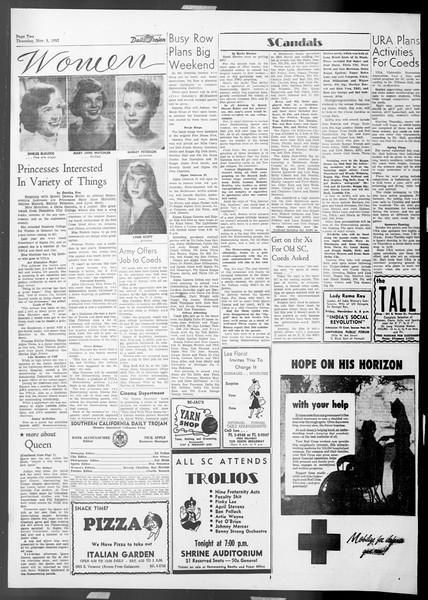 Daily Trojan, Vol. 45, No. 33, November 05, 1953