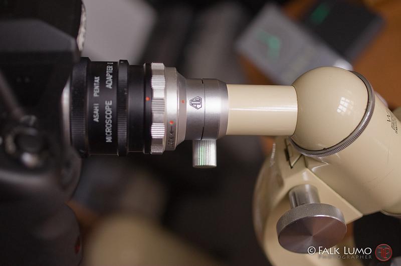 Asahi Pentax Microscope Adapter