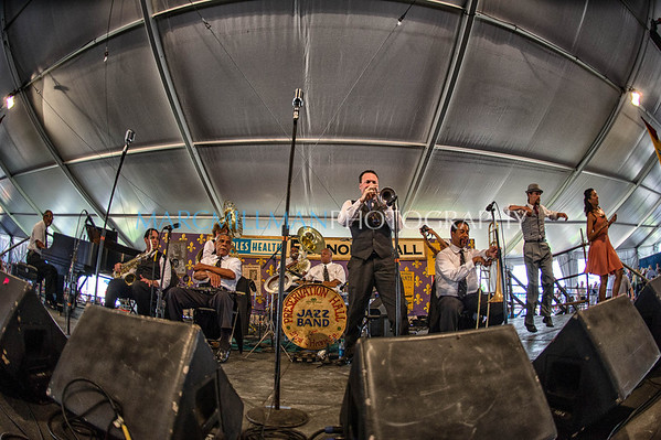 Preservation Hall Jazz Band @ Peoples Health Economy Hall Tent (Sat 5/5/12)