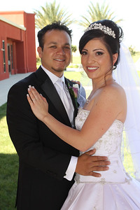 Maritsa and Jorge at Immaculate Heart of Mary
