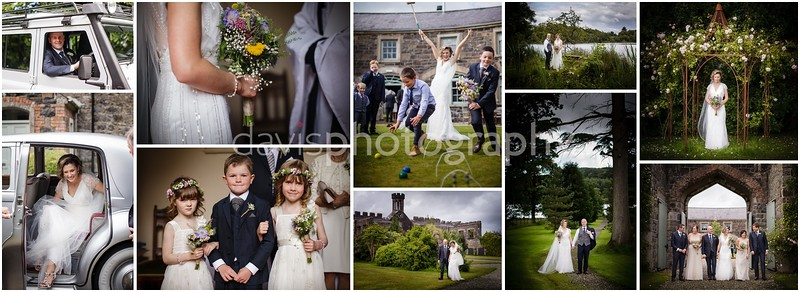 Lissanoure Castle Wedding - Moira + Frank