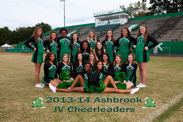 2013-14 Ashbrook JV Cheerleaders