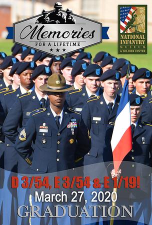 D 3/54, E 3/54 & E 1/19 Graduation