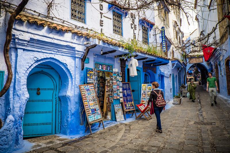 Genevieve Hathaway_Morocco_Chefchaouen_Medina streets.jpg