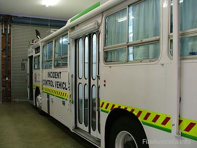 WA BFS Incident Control Vehicles