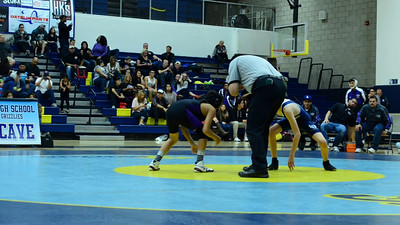 Wrestling LOHS vs Rancho Cucamonga High