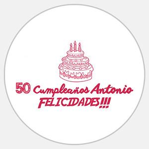 50 Cumpleaños Antonio