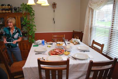Easter Sunday Dinner - April 24. 2011