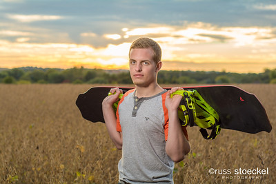 HIGH SCHOOL SENIOR PORTRAIT: JOSH