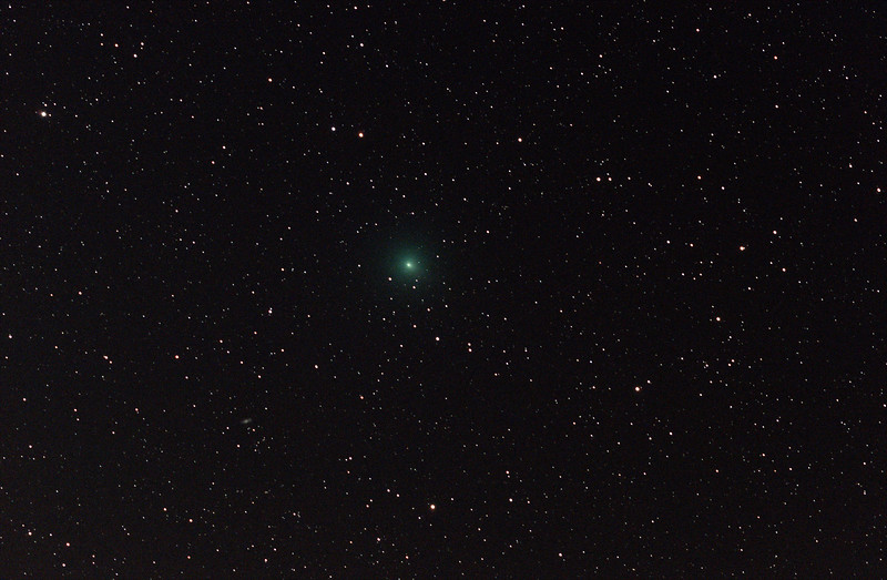 Comet 46P Wirtanen in Cetus - 29/11/2018 (Processed stack)