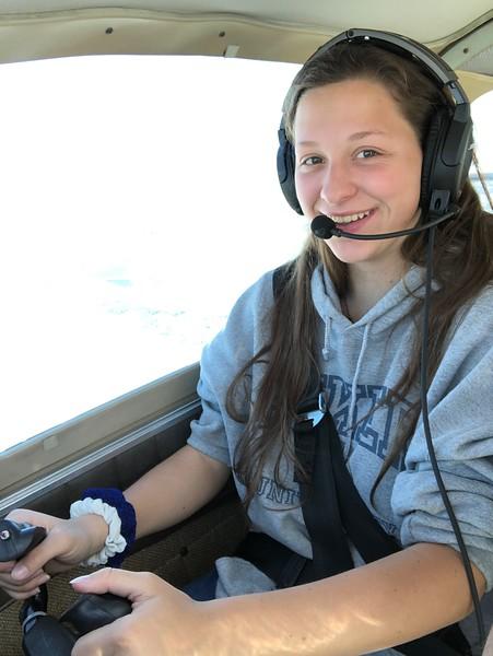Clare Takes Flight