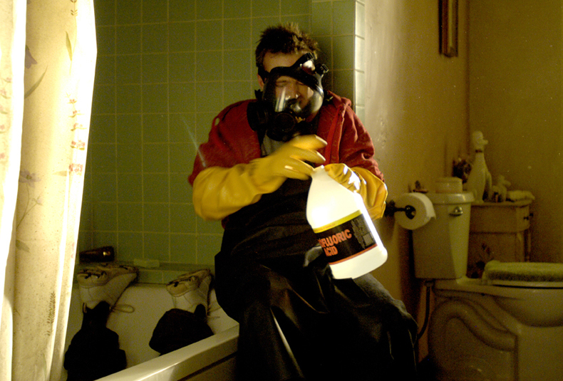 . <p>15. HYDROFLUORIC ACID <p>Not your best choice when dissolving bodies in your bathtub.