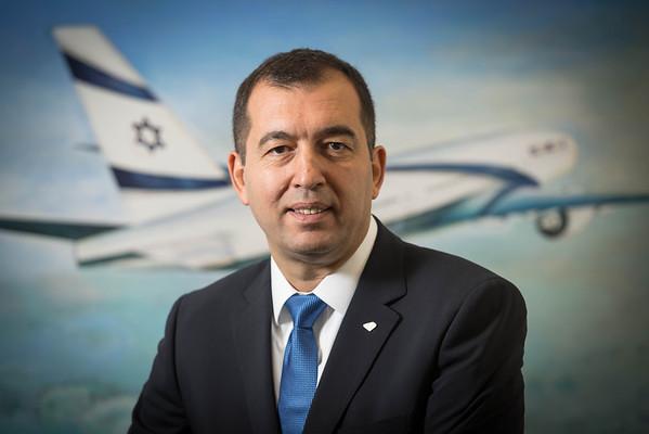 El Al - Yoram Elgrabli portrait