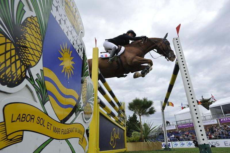 JUMPING : Pénélope LEPREVOST - TOPINAMBOUR COUPE DES NATIONS 2012 -  CSIO DE LA BAULE 2012 - PHOTO : © CHRISTOPHE BRICOT