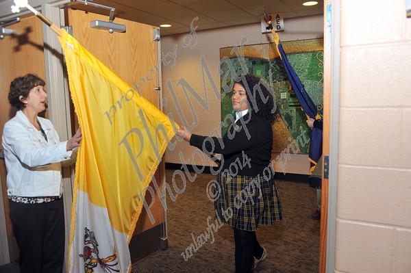 Berks Catholic Student Council Induction 2015 - 2016