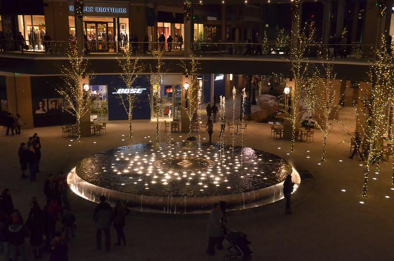 Part of CityCreek mall