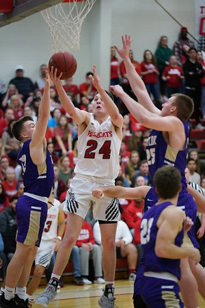 IWU Men's Basketball vs Taylor  1-8-19