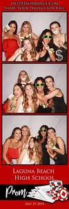 5/19/18 Laguna Beach High School Prom Photo Strips
