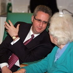 Minister: Ivan Lewis NHS MHT visit June 2008
