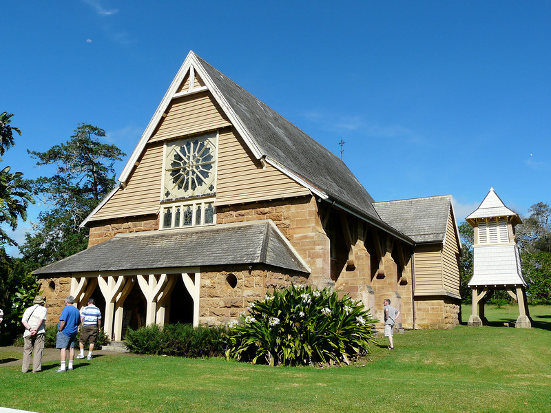 Sunday - Exterior of St Barnabas Chapel.