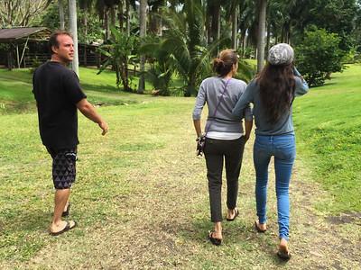 PMF * Walkabout May 10, Kevin, Malia and Gabs