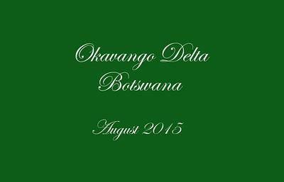 Okavango Delta Short Version