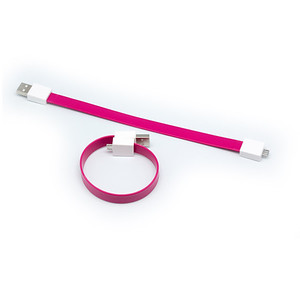 CB11 - MicroUSB Magnetic Wristband Cable