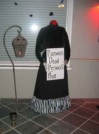 Famous Dead Persons Ball - Thomas and Tristan