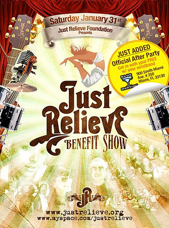 """Just Relieve Benefit Show @ Miami Science Museum"""