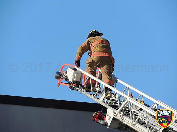 Fire at Nemak on February 9, 2017