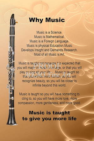 Clarinet Posters for Musicians