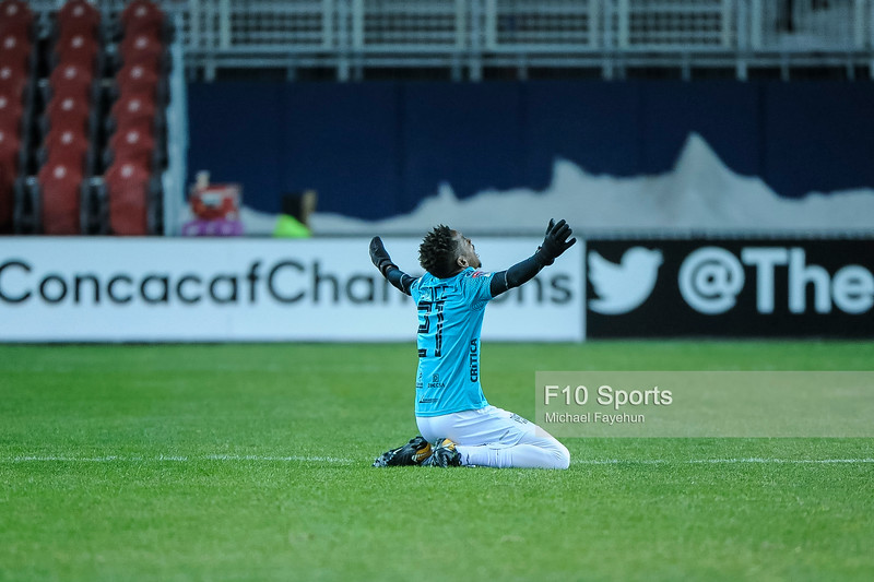 TORONTO, CANADA - Feb 26: during the CONCACAF Champions League round of 16 match between Toronto FC and Club Atletico Independiente de la Chorrera at BMO Field. Photo: Michael Fayehun/F10 Sports Photography