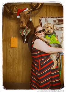 AIC Potluck 2014 Moose Photobooth