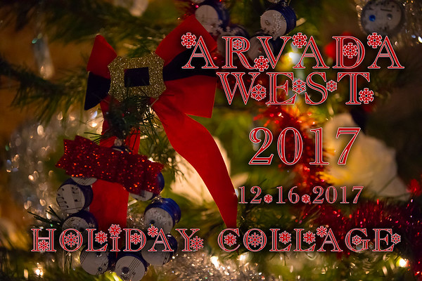 Arvada West Holiday Collage Concert 12-16-2017