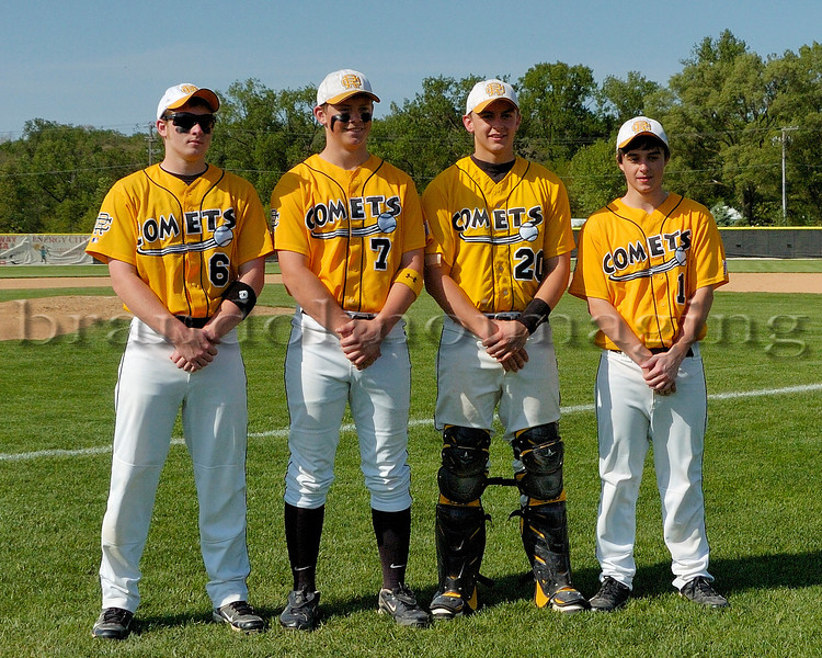 Reed-Custer Baseball Sr. Night 2012